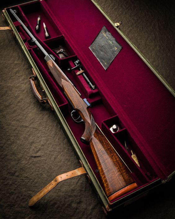 Ружье в чехле